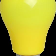 LED Birne, Kunststoff, A60, E27, 3W = 28W, Gelb Licht 30000h, für Außen