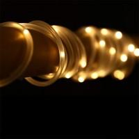 Dekorative Röhrenlicht Schlauch 30M mit 300 LEDs, Strombetrieben, Warm Licht, für Außen