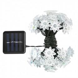 Solar Lichterkette 3M mit 20 LEDs Typ Blume, Warm Licht, für Außen