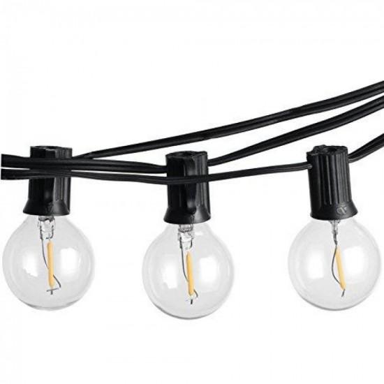 """LED Lampe mit """"i"""" Filament G40, E14, 0.5W, Glas, Warm Licht, für Außen"""