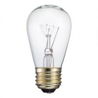 Glühbirne-Filament, E27, 11W, Klarglas, Dimmbar, Warm Licht 2700K, für Außen