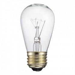 Glühbirne mit Filament E27, 11W, Glas, Dimmbar, Warm Licht, für Außen