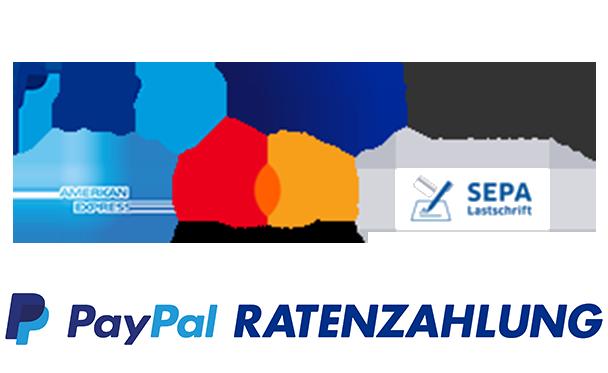 PayPal, Kauf auf rechnung, Ratenzahlung