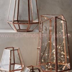 Kupferdraht Lichterkette 20M mit 200 Mini-LEDs mit Transformator, Schlafzimmer Dekorationen, Warm Licht