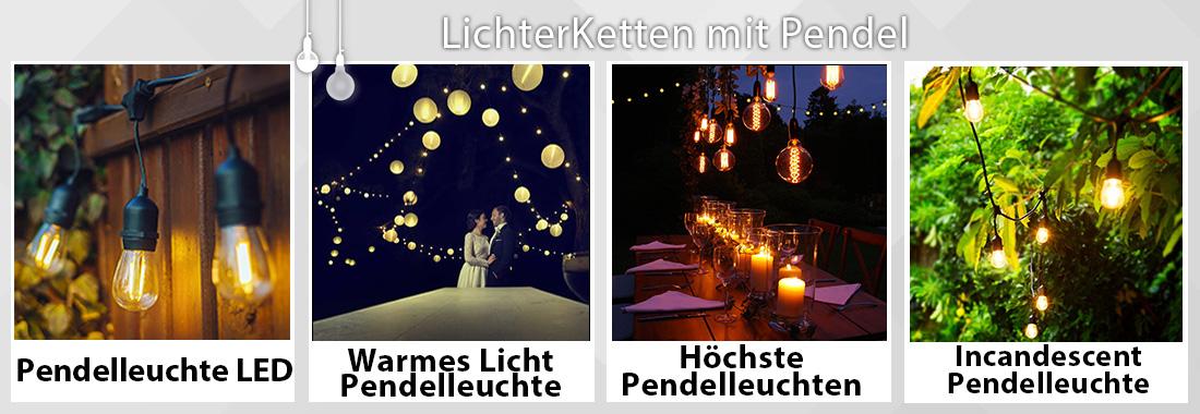 Lichterketten mit Pendel