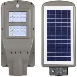 LED Solar Flutlicht mit Bewegungssensor 40W, Straßenbeleuchtung mit Kaltes Licht, für Außen