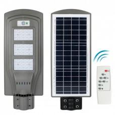Solar Straßenbeleuchtung mit Bewegungssensor und Fernbedienung 60W, für Außen
