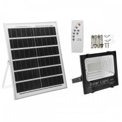 LED Solar Flutlicht 40W mit Dämmerungssensor und Fernbedienung