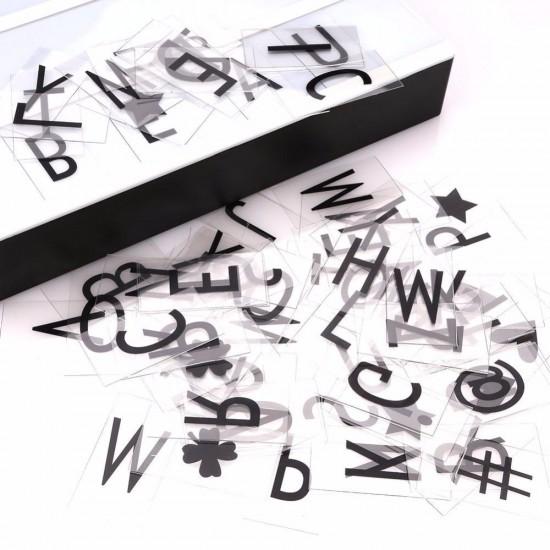 Leuchtkasten Kino A3 Vintage Mit 85 Buchstaben, Zahlen und Symbole, Batteriebetrieben, USB-Anschlusskabel