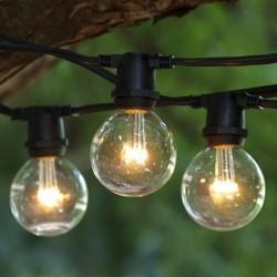 Leuchtmittel Retro mit 3 LEDs, E14, 1W, Glas, Dimmbar, Warm Licht, für Außen