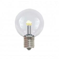 Leuchtmittel Retrofit mit 3 LEDs, E12, 1W, Kunststoff, Warm Licht, für Außen