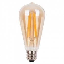 LED Lampe Filament ST64, E27 4W, Ombre Glas, Dimmbar, Warm Licht, für Außen