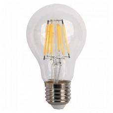 Birne mit 6 LEDs Filament A60, E27, 6W, Glas, 75lm/W, A+, Warm Licht 2800K, für Außen