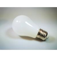 LED Birne, Kunststoff, A60, E27, 3W = 28W, Mattweiß Licht 30000h, für Außen