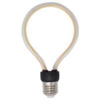LED Lampe Art Tube, Kunststoff, Dimmbar, E27, 4W, 2200K, für Außen