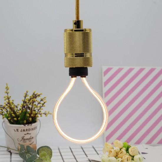 LED Lampe Art Tube, E27, 4W, Kunststoff, Dimmbar, für Außen