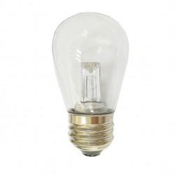 LED Birne S14, E27, 2W, Kunststoff, Dimmbar, Warm Licht, für Außen