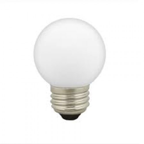 LED Lampe Mattweiß, Dimmbar, E27, 1W, 70 lm/W, Warm Licht 2200k, für Außen
