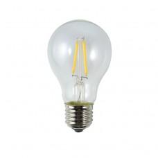 LED Birne, Kunststoff, Dimmbar, A60, E27, 2W, 20lm/W, A+, Warm Licht 2200K, für Außen